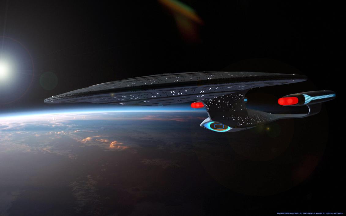 Enterprise Dawn by axeman3d