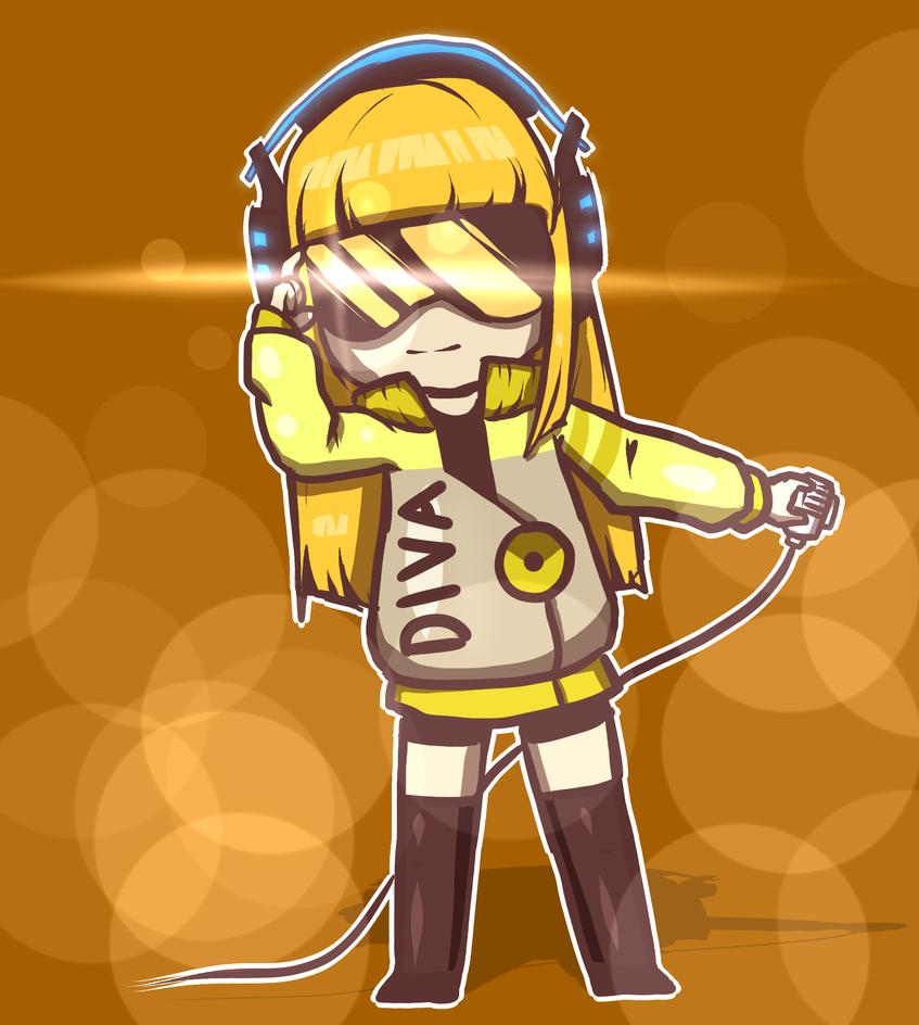 Cyber Diva by Husky-Fish
