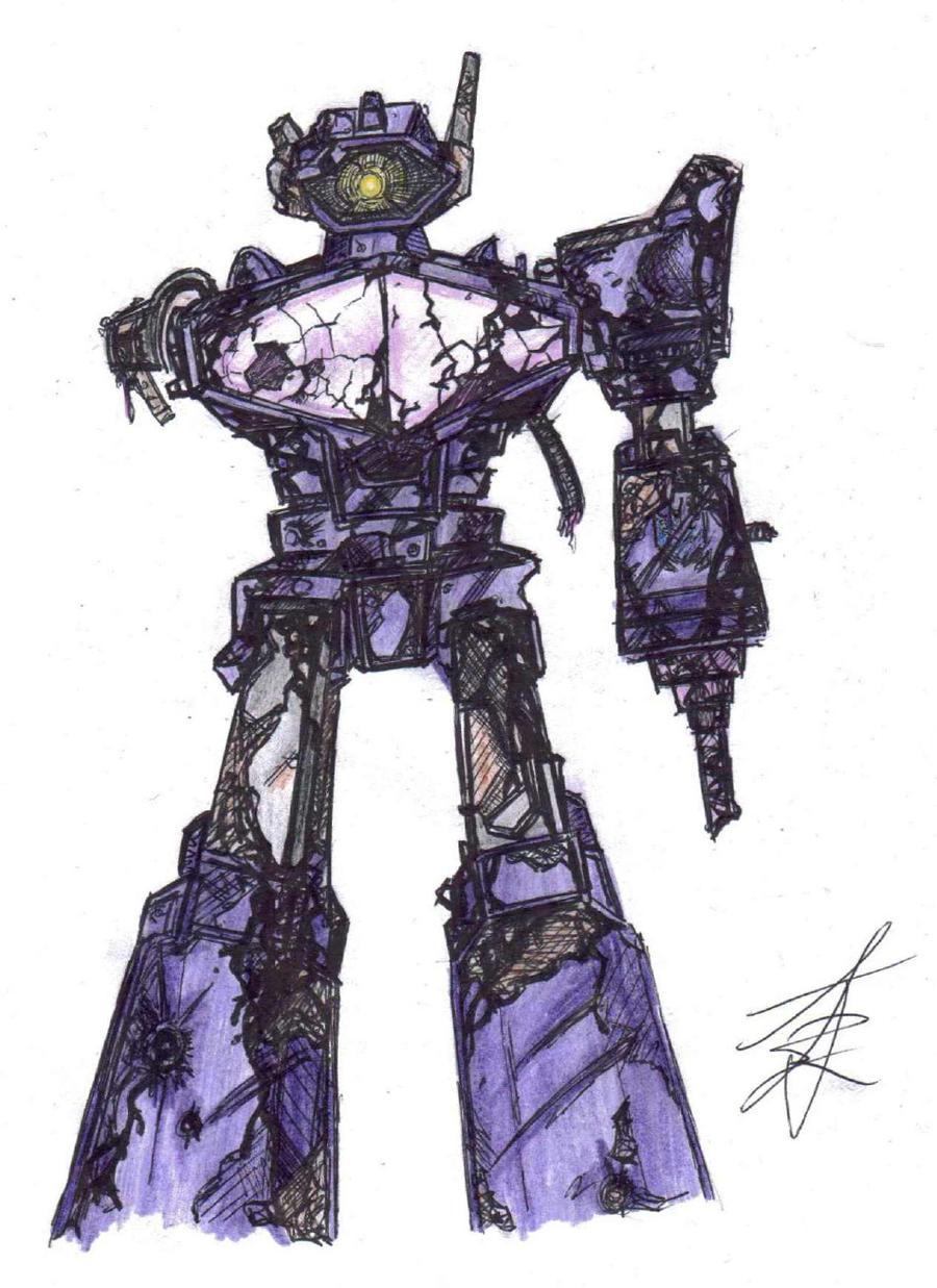 Transformers G1 Shockwave (battle damage) by ...