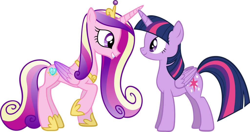 My little pony cadence and twilight - My little pony cadence ...