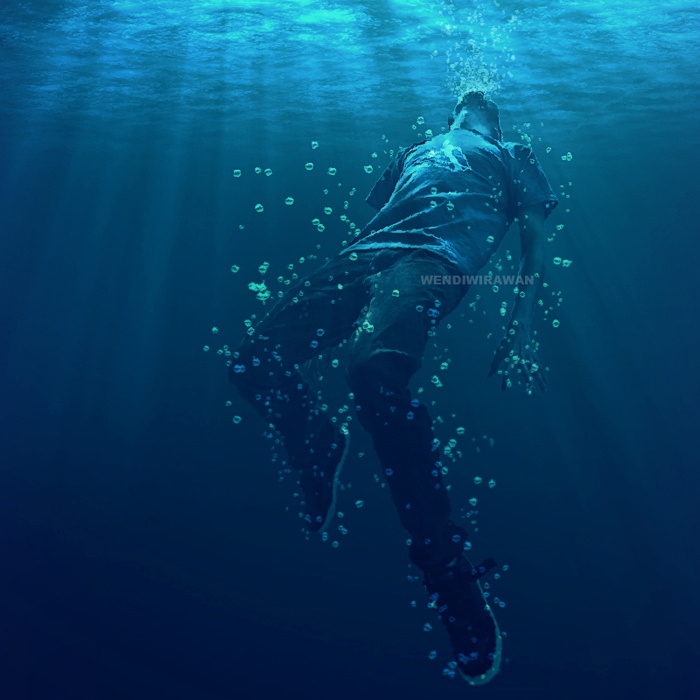 drowning man by the-ps...