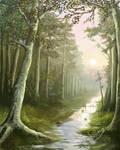 Quiet of the woods