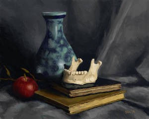 Still Life exercise - mixing digital color