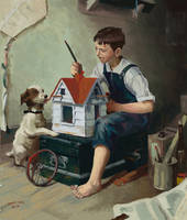 Master study: Norman Rockwell
