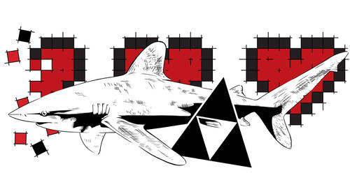 Life Shark by InkSh4rk