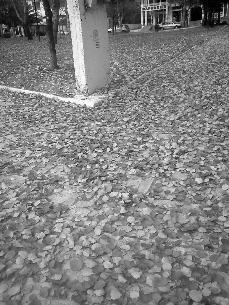 Leaf Road by lamogios