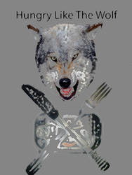 Hungry Like the wolf by lamogios