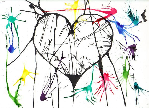 Shattered Heart Drawings Shattered heart by tennisfreak