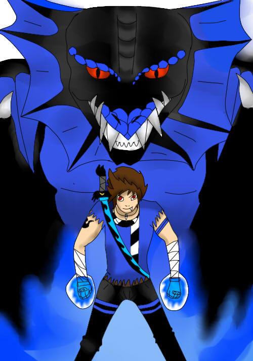 Lex  and dragon lex by Lexy-boy