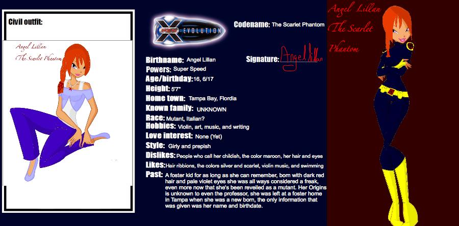 X Men Evolution Characters Profiles x men evolution oc Pro...