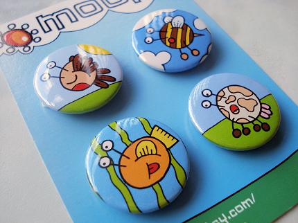 Animal Badges by moopf