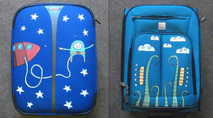 Customised Luggage by moopf