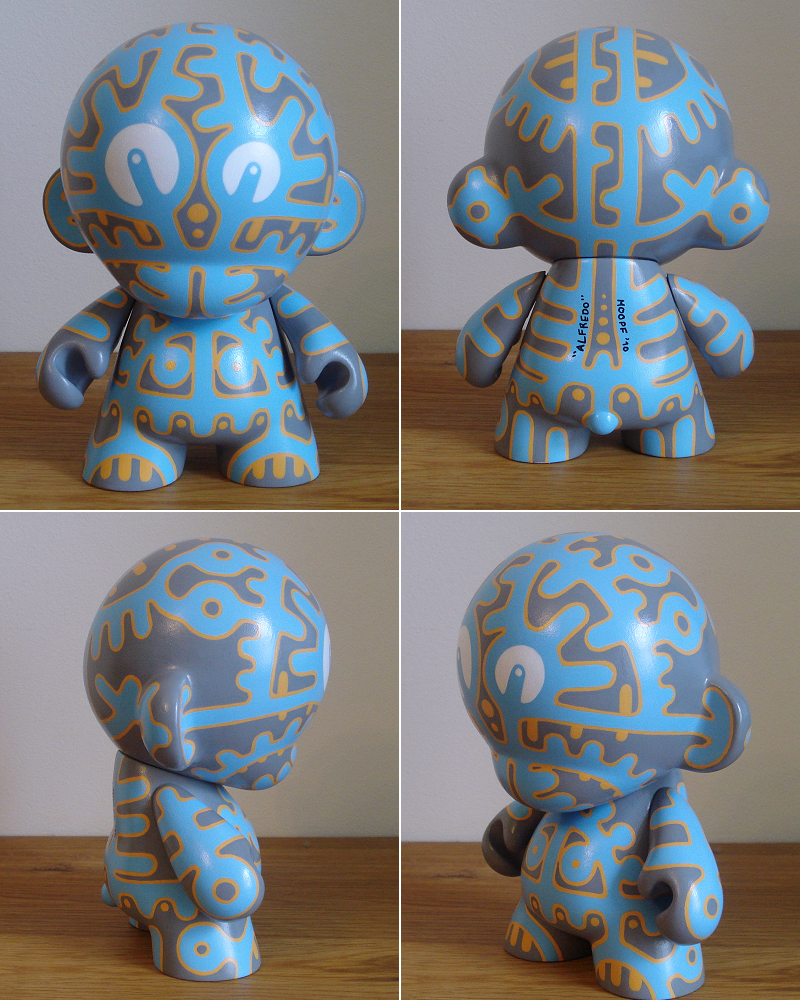 Custom Munny - Alfredo by moopf