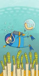 Scuba Diving by moopf