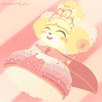 Princess Isabelle - Animal Crossing/Wreck-It Ralph by CharmmyColour