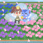 Alex and Rosie - Animal Crossing