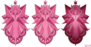Magenta Diamond Mural - Steven Universe