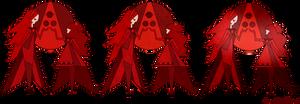 Red Diamonds Mural - Steven Universe