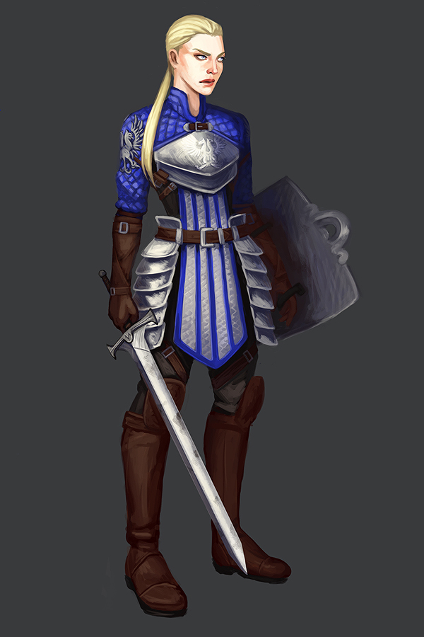 Amell Warden Outfit By CrystalGrazianoArt On DeviantArt