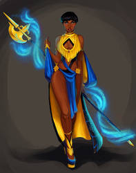 Mage by CrystalGrazianoArt