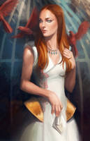 Game of Thrones - Sansa by CrystalGrazianoArt