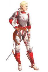 Knight by CrystalGrazianoArt