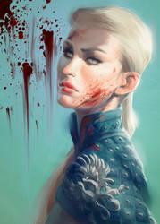 Grey Warden by CrystalGrazianoArt