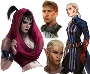Dragon Age Sketches