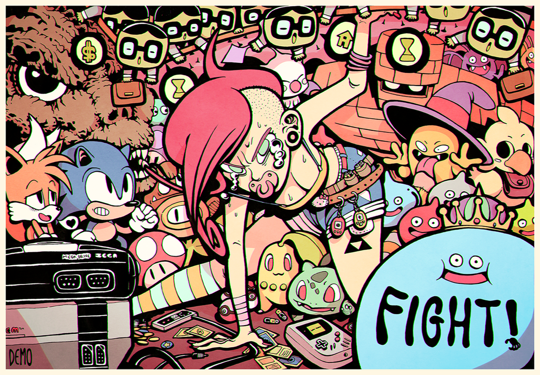 Fight! by DEMODANZA