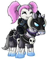 Death Knight Chibis - Gnome by RedPawDesigns
