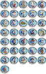 Street Fighter Chibi Badges