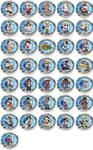 Street Fighter Chibi Badges