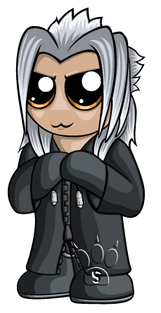 Xemnas Chibi by RedPawDesigns