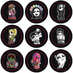 Yume Nikki Badge Set by RedPawDesigns
