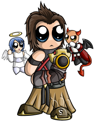 Terra Chibi by RedPawDesigns