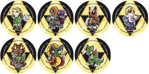Legend of Zelda Chibi Badges