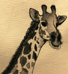 INKTOBER #1: Giraffe