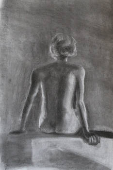 Life Study in Charcoal