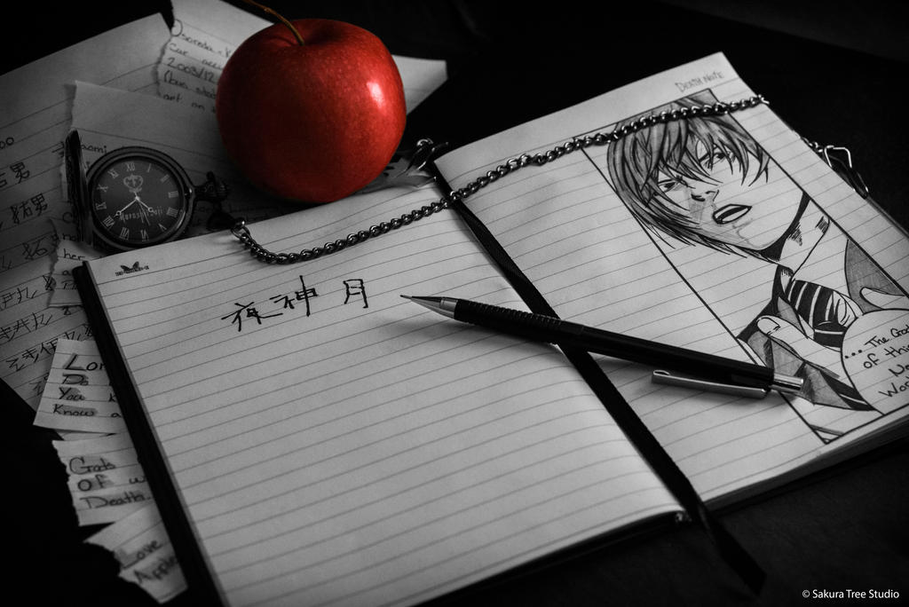 Death Note by moho-sha-20