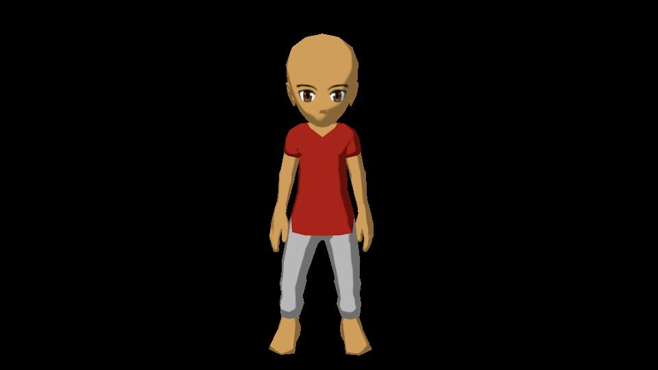 Character Design In Blender : Model character design blender by son isaki on deviantart