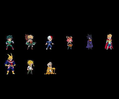 ULSW2 Collection My Hero Academia