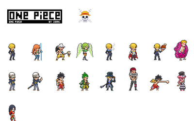 ULSW2 Collection | One Piece by SonIsaki