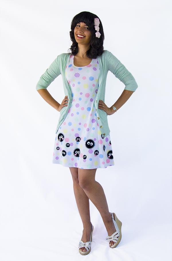 Spirited Away Soot Sprites Pastel Konpeito Dress By Kyocatclothing On Deviantart