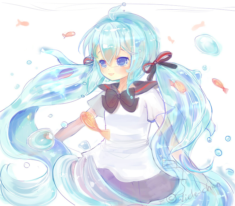 doodle-Botoru Miku by Vicle-chan