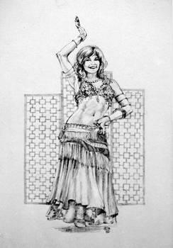 Elizabeth - Belly Dancer