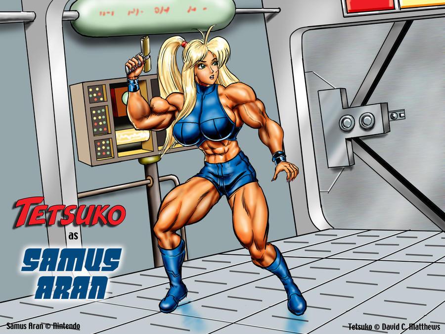 "Tetsuko as ""Samus Aran"" by DavidCMatthews"