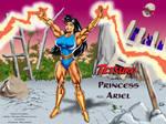 Tetsuko as 'Princess Ariel'