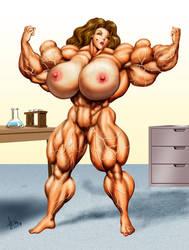 Massive Sonya for r1v3th3d - 2 by DavidCMatthews
