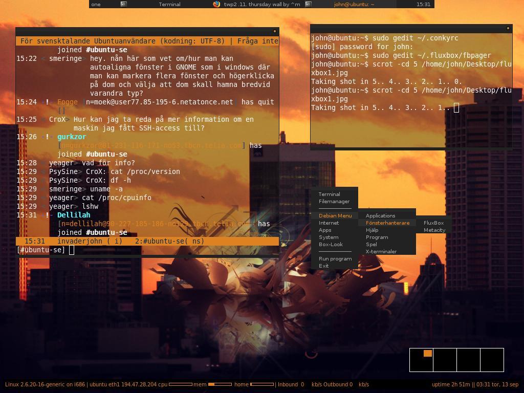 Orange fluxbox by invaderjohn