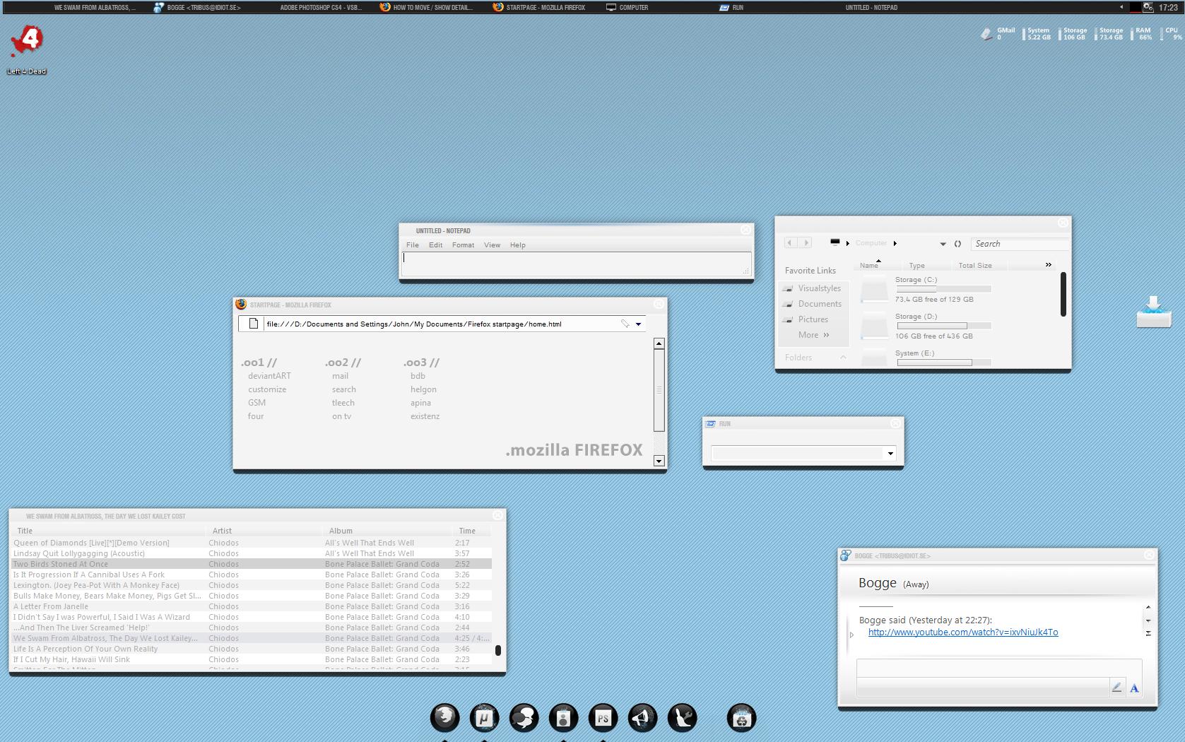 Desktop 27-12-08 by invaderjohn